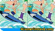 Phineas and Ferb – Find the Differences