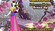 Princess Mulan Dress Up