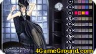 Ms. Dracula – Vampire Dress Up