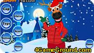 X mas Reindeer Dress Up