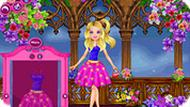 Barbie Floral Princess Dress Up