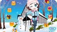 Snowball Fights Dressup