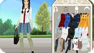 Private School Girl Dress Up