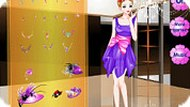 Fashion Purple Dress