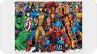 Fighting Heroes Jigsaw