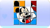 Mickey Mouse Sliding Puzzle