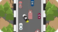 Police Driving Obstacle Course Game
