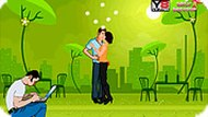Couple Romantic Kiss