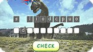 Dinosaurs Word Scramble