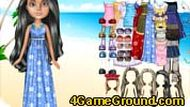 Beach Bratz Dress Up