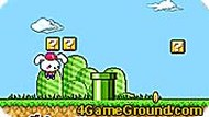 Cute Rabbit in Mario World